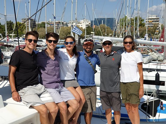 Happy family after their sailing vacations!!