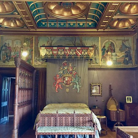 Mount Stuart: The Family Bedroom