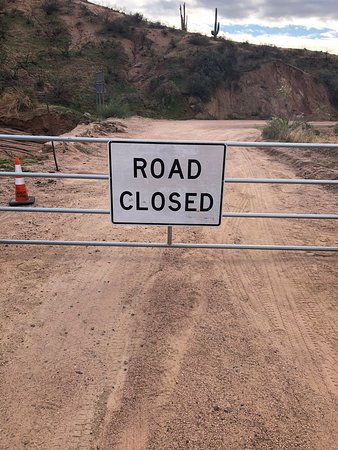 Road closed Hwy 88,our bad...should have read trip advisor.