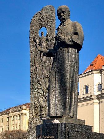 The National Revival Wave. Monument toTaras  Shevchenko