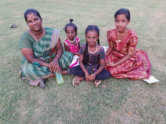 Inde : famille indienne