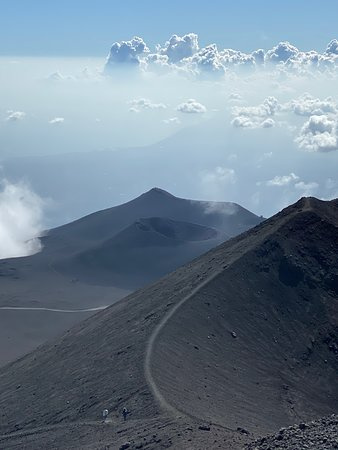 View of a Crater from 2900 mt.