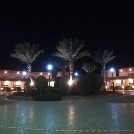 Panorama notturno zona ingresso