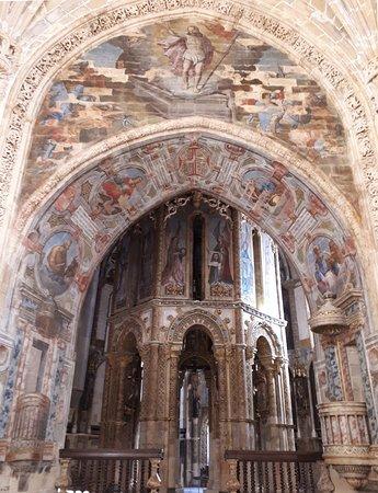 The Charola Church, Convento de Cristo, Tomar, Portugal