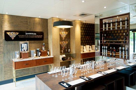 Oliver, Canadá: The Inniskillin and Jackson-Triggs Okanagan Estate tasting room