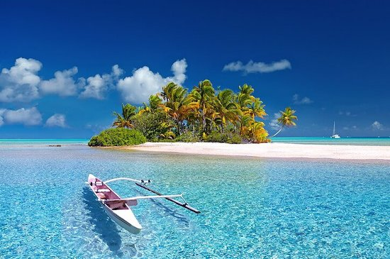 #Tahiti is the largest #island in #French #Polynesia, the #SouthPacific #archipelago. Shaped like a figure-8, it's divided into #TahitiNui (the larger, western section) and #TahitiIti (the eastern peninsula). With #blacksand #beaches , #lagoons , #waterfalls and 2 extinct #volcanoes , it's a popular #vacation #destination. Explored by #CaptainJamesCook in the 18th century, it was also often painted by French artist #PaulGauguin.