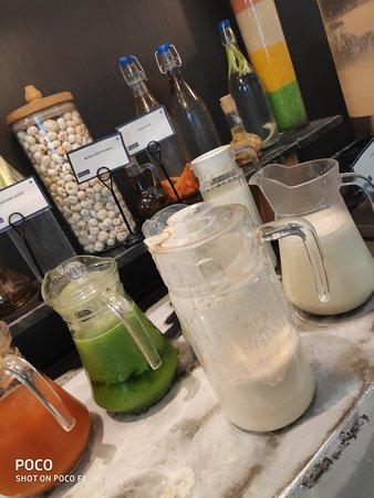 Cafe fresh juice