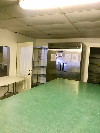 Commercial Kitchen inside Banquet Hall