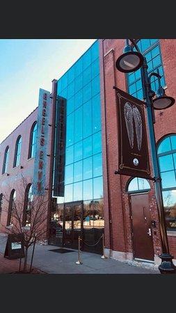 Angel's Envy Kentucky Bourbon Distillery Tour: Beautiful building