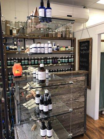 Ayurvedic Herbal Dispensary Western Herbal Medicine Homeopathic Dispensary Essential Oils Dispensary Bach Flowers