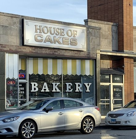 front of & entrance to House of Cakes