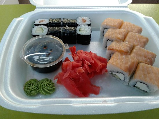 Been here for 5 months now and this is the best sushi i have had in Magnitogorsk
