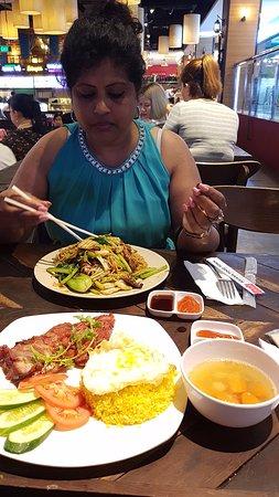 Foodie at Asiana Food Town