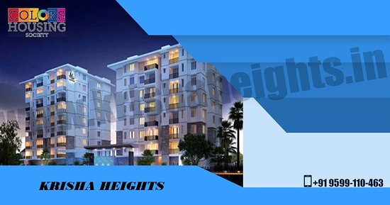 New Delhi, India: Krisha Height offers amazing opportunities to all home buyers and the person who is interesting to invest in real estate, you should apply for 1BHK to 4BHK apartments within budget, Which has been developed under Master Plan 2021.