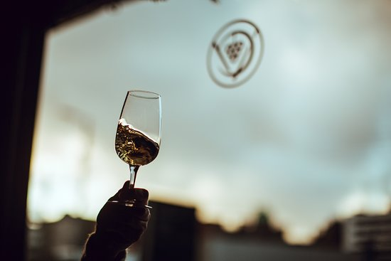 swirling a natural low intervention wine
