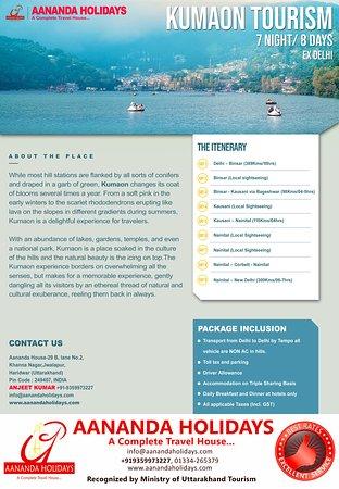 Haridwar, India: Aananda Holidays a trusted Trip Advisor