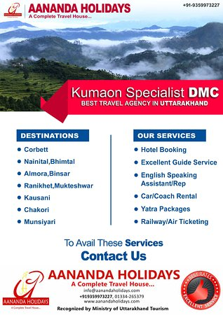 Haridwar, India: Aananda Holidays, Kumaon Specialist DMC