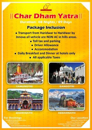 Haridwar, Hindistan: Chardham Yatra Packages
