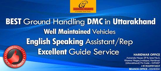 Haridwar, Hindistan: Best Ground Handling DMC in Uttarakhand
