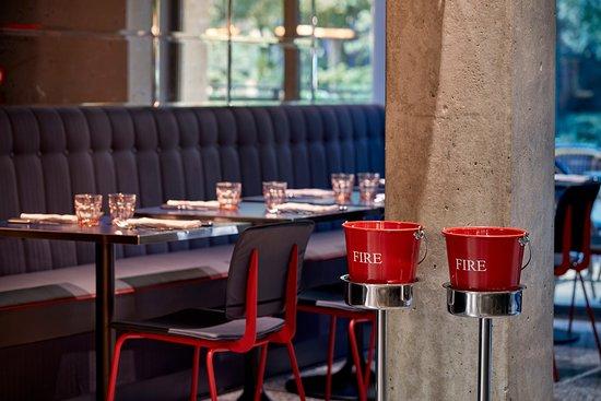 La Grande Georgette: Restaurant