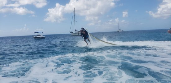 Jetblade in Barbados: Takeoff!