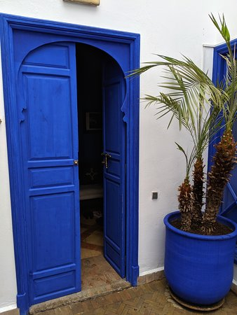 """Doorway to what we referred to as the """"TARDIS Suite""""."""