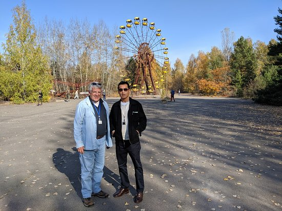 Full-Day Private Tour to Chernobyl and Pripyat Town from Kyiv: Pripyat's Amusement Park - about to open on the accident day