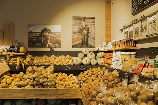 Farndon Fields potatoes, grown on our farm specially for our farm shop.