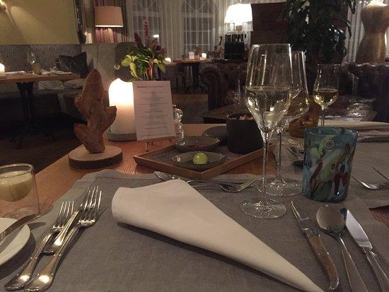 Schön gedeckter Tisch