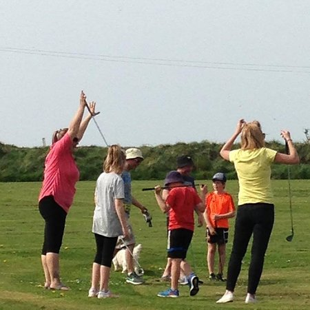 Family tournament at our 9 hole pitch & putt course