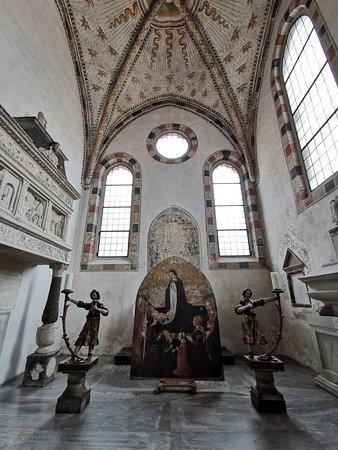 Inside Santa Maria Delle Grazie