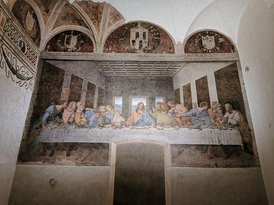 Santa Maria delle Grazie, Italy: The last supper