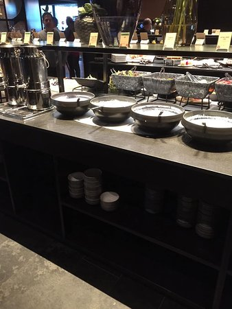 Breakfast Buffet:  Every kind of homemade yogurt you could imagine as well as toppings galore!