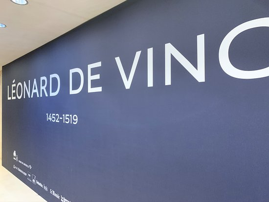 À l'occasion de l'exposition Vinci.
