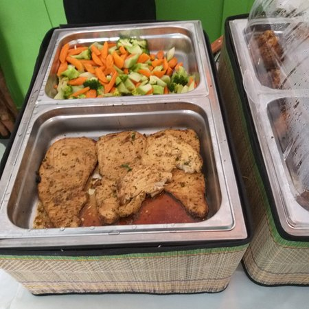 Fresh Vegetables!!! Delicious Creole pork
