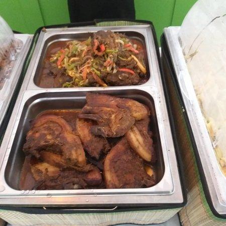 LUNCH MENU - Beef stew