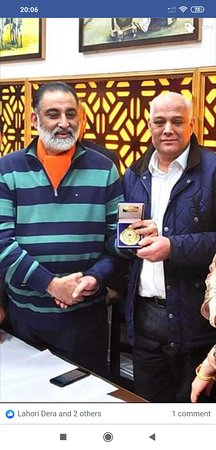 The Mayor of Manchester, Mr. Abid Chohan visiting Lahori Dera on our special invitation.