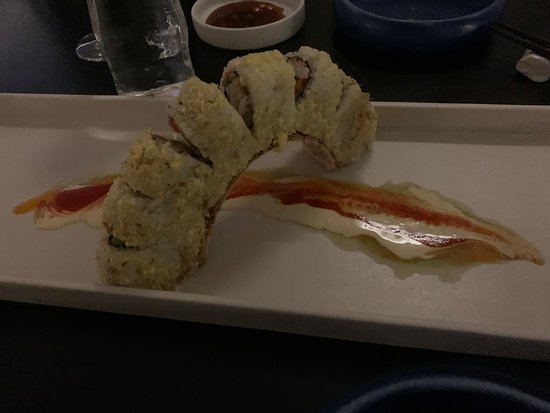Innovative and gourmet sushi
