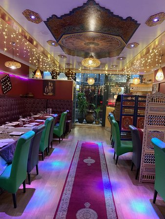 Marrakech Salisbury: Lovely ambience, colours, design, quality. A special place.