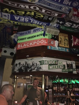 Quality Bar and Quality Football Scarf