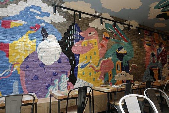 Brolga mural