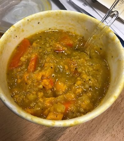 Curry Sweet Potato, Riced Cauliflower Soup (Daily Special)