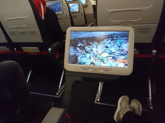Turkish Airlines : Развлечение на борту и место для ног на высшем уровне