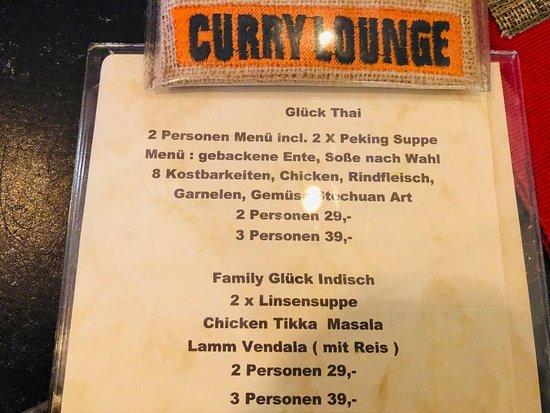 Thai & indisches Restaurant Curry Lounge