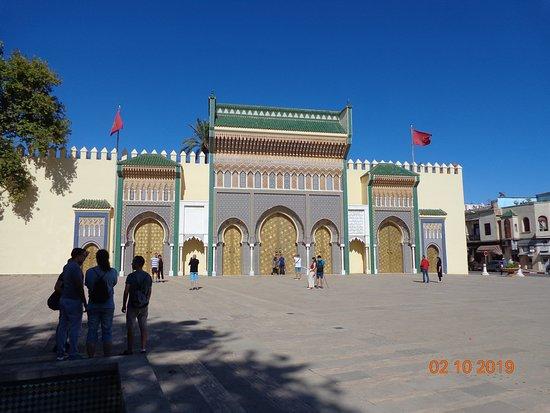 Acesso ao Palácio Real de Fez - Portão Dourado