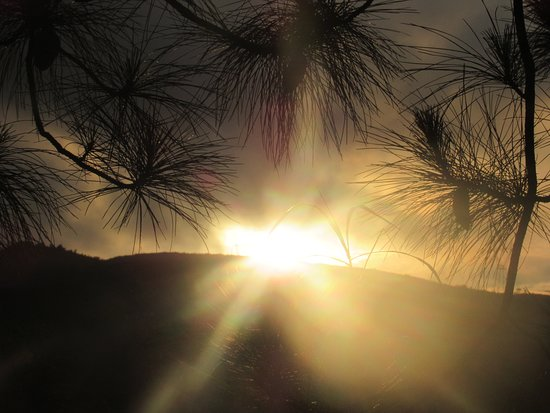 Pôr do sol!