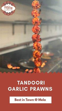 Tandoori Garlic Prawn