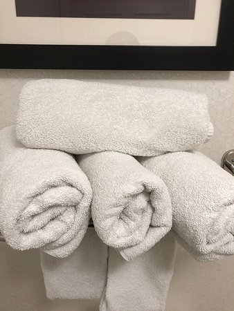 These towels are so old and rough, they scratch your skin