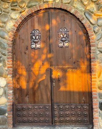 Old traditional Georgian door