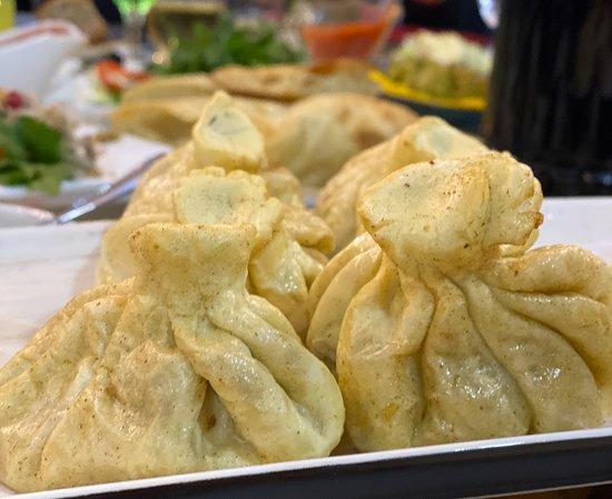 Khoni, Géorgie : Fried Khinkali